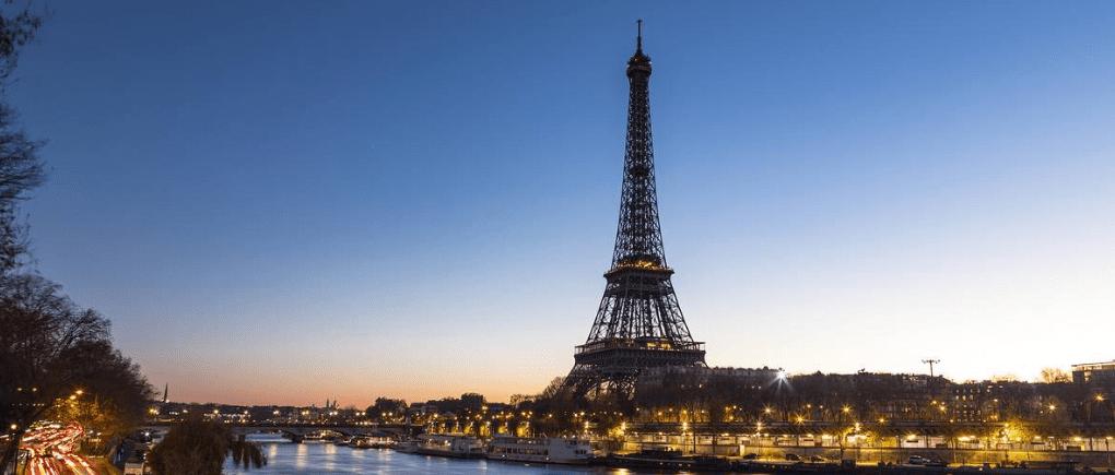 vista de vacaciones en Paris