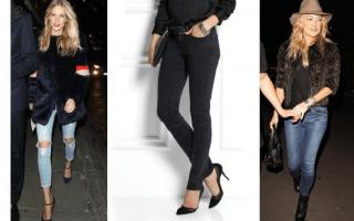 Jeans para lucir de noche