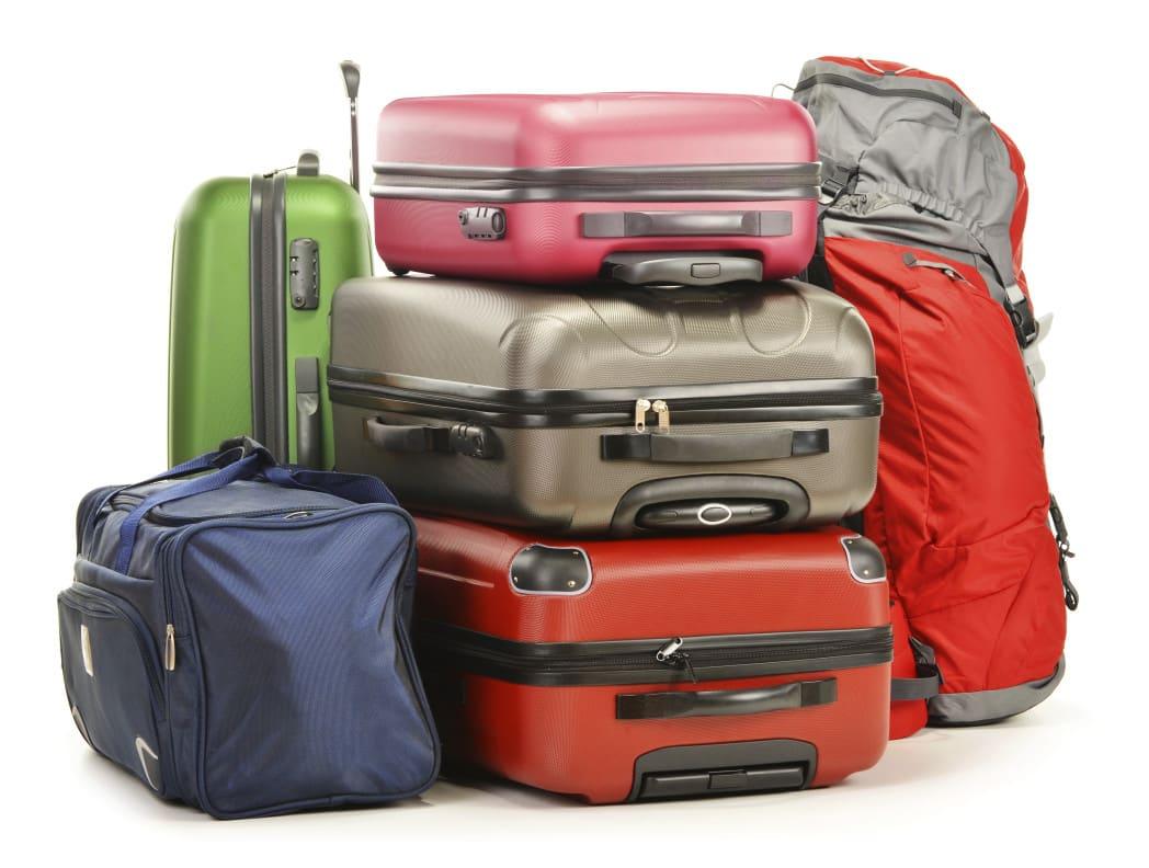 equipaje en viajes baratos