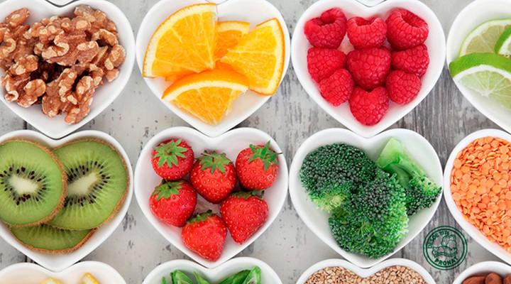 Antioxidantes frutos y semillas