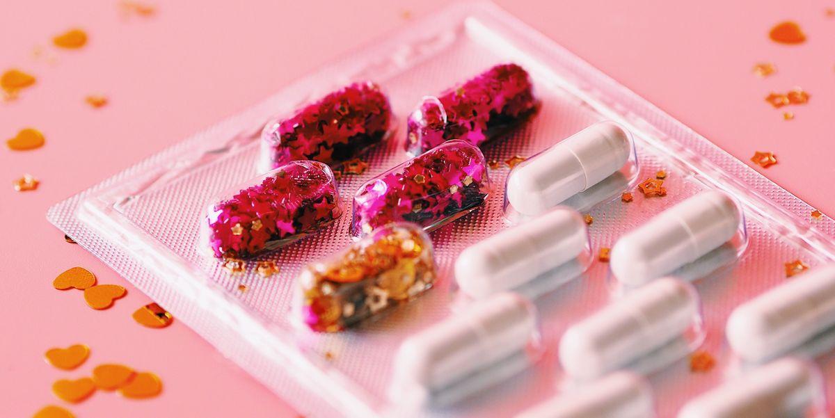 Tabletas y probióticos